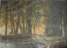 Pejzaż leśny 1897r. 150x205cm
