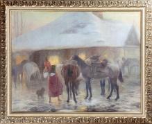 zz__ Ryszkiewicz - O brzasku, 1912r. 89x111cm