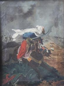 M.Kieliszkiewicz (XIXw)   1863r.  -  Atak