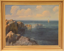 Nad morzem w Dubrowniku 49x64cm