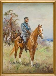 Cz.Wasilewski -  Marszałek Piłsudski na Kasztance