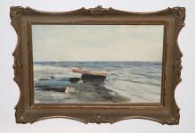 Mokwa - Łódki przy brzegu