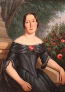 Titz Aleksander - Para portretów w stylu  biedermeierowskim
