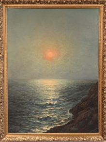 Korecki - Zachód słońca nad morzem 1946  113x83cm