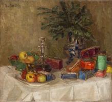 von Zawadzky Margarete - Martwa natura z prezentami