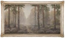 Korecki Wiktor (1897-1980)  Wrzosy w sosnowym lesie