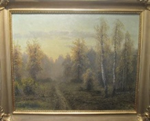 Korecki Wiktor (1897-1980)  Droga jesienią
