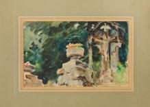*w kolekcjach___Fałat - Kapliczka w Bystrej