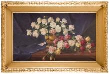 Zygmuntowicz - Martwa natura z różami