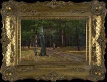 Brochocki Walery (1847-1923)  Myśliwy w lesie