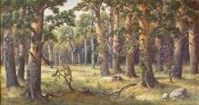 Guranowski Józef (1859-1922) Panorama lasu