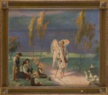 Unierzyski Józef (1863-1947) Anioł Stróż i pastuszkowie
