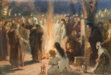 Styka Jan (1858-1925)   Kazanie św.Piotra