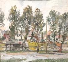 Zakrzewski - Kutry w Łebie 50x61cm