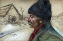 Wołkowski K. (XIX/XXw) Chłop w czapce