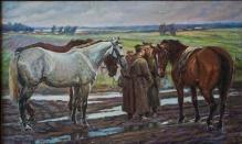 Stępień Jan (1895-1976)  Spotkanie na drodze )