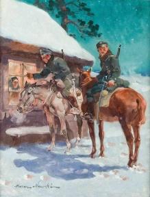 Nowicki Marian (1876-1955)  Puk puk w okieneczko