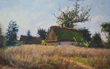 Stępień Jan (1895-1976)  Wiejskie chaty
