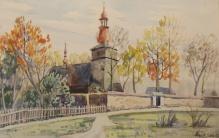 Wójcik Franciszek (1903-1984) Kościół w Rabce
