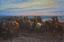 Stępień Jan (1895-1976)  Przejazd kawalerii