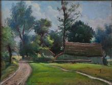 Stępień Jan (1895-1976)  Wiejska zagroda