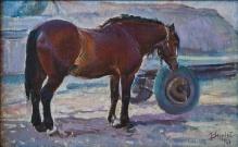 Stępień Jan (1895-1976)  Koń na gospodarstwie