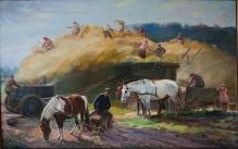 Stępień Jan (1895-1976)  Sianokosy