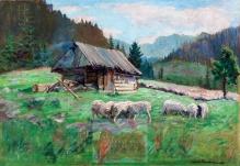 Haneman Max (1882-1944)  Tatry - Hala Kondratowa Niżna