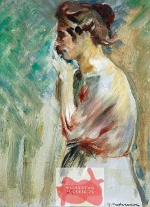 Malczewski Jacek (1854-1929) Studium kobiety