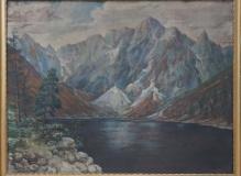 Szmyt Kazimierz (1860-1941) Widok znad Morskiego Oka
