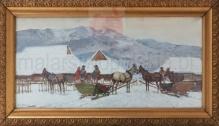 Setkowicz Adam (1876-1945)  Zima w Tatrach