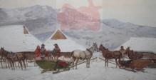 Setkowicz Adam (1876-1945)  Tatry, Zakopane, Czerwone Wierchy zimą