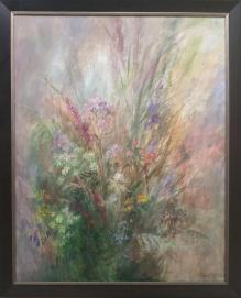 Bukiet polnych kwiatów - 100x70cm