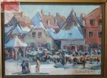 Stępski Wiktor (1869–1929)  Rynek w Kazimierzu Dolnym / Kazimierz Dolny /