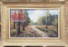 Archiwalne___Korecki Wiktor (1897-1980)  Droga przez las