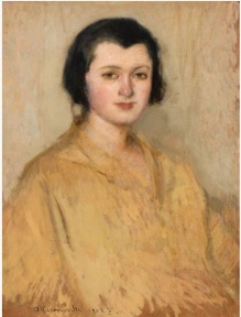 Karpiński Alfons (1875-1961) Portret młodej kobiety