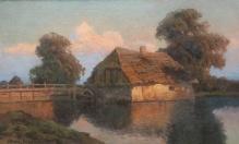 Archiwalne_____Korecki Wiktor (1897-1980)  Młyn w słoneczny dzień