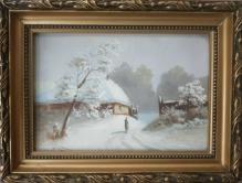 Klotz H. - Wiejska zagroda zimą
