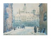 Chmieliński Władysław - Widok na Rynek Starego Miasta