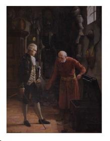 Archiwalne__Maszyński Julian (1847-1901)  Pusty skarbiec