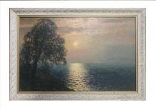 Korecki Wiktor (1897-1980)  Zachód słońca nad Bałtykiem