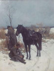 Piotrowski Antoni (1853-1924) Rosyjska straż graniczna