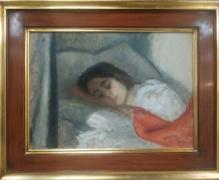 Weiss- Aneri Irena (1888-1981)  Śpiąca Marylka