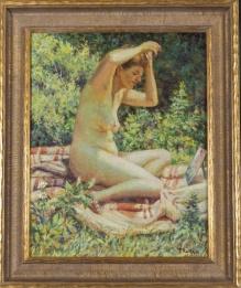 Ratka Teodor ( 1914-1985)   Akt