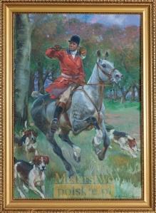 Kossak Jerzy (1886-1955) Na polowanie 1916r.