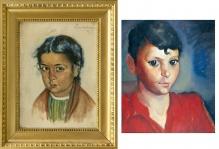 Lewkowicz Leon (1888-1950) Para portretów