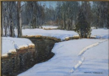 Korecki Wiktor - Struga leśna zimą