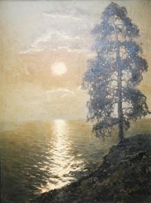 Korecki Wiktor (1897-1980)  Sosna nad brzegiem morza
